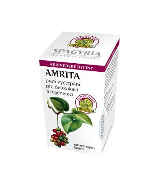 Amrita - v přírodní medicíně se nazývá Guduchi a je považovaná za nektar nesmrtelnosti.