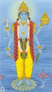 Dhanvantari - bůh ájurvédské medicíny