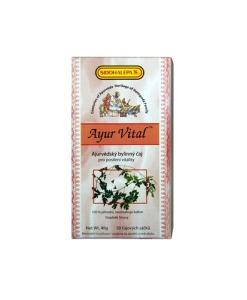 Siddhalepa Ayur Vital - bylinný čaj pro posílení vitality, 20 sáčků