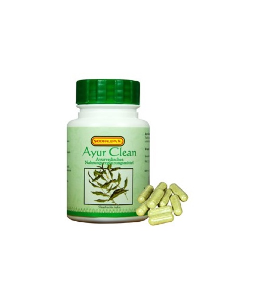 Siddhalepa Ayur Clean - podpora detoxikace, 50 kapslí