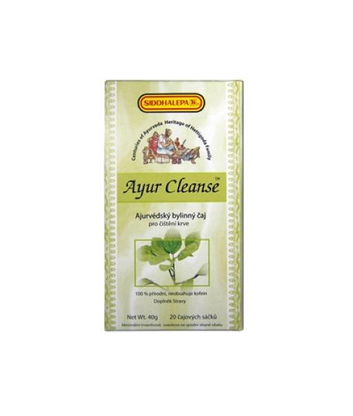 Siddhalepa Ayur Cleanse - bylinný čaj pro čištění krve, 20 sáčků