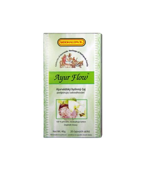 Siddhalepa Ayur Flow - bylinný čaj pro podporu odvodňování, 20 sáčků