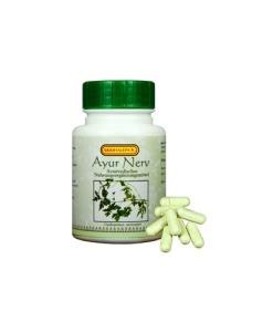Siddhalepa Ayur Nerv - podpora nervového systému, 50 kapslí