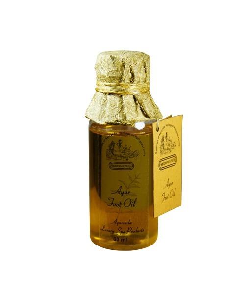 Siddhalepa Ayur olej na chodidla - Foot oil, 60 ml