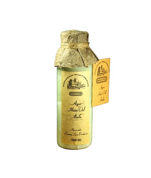 Siddhalepa Vlasový olej Amla, 100 ml