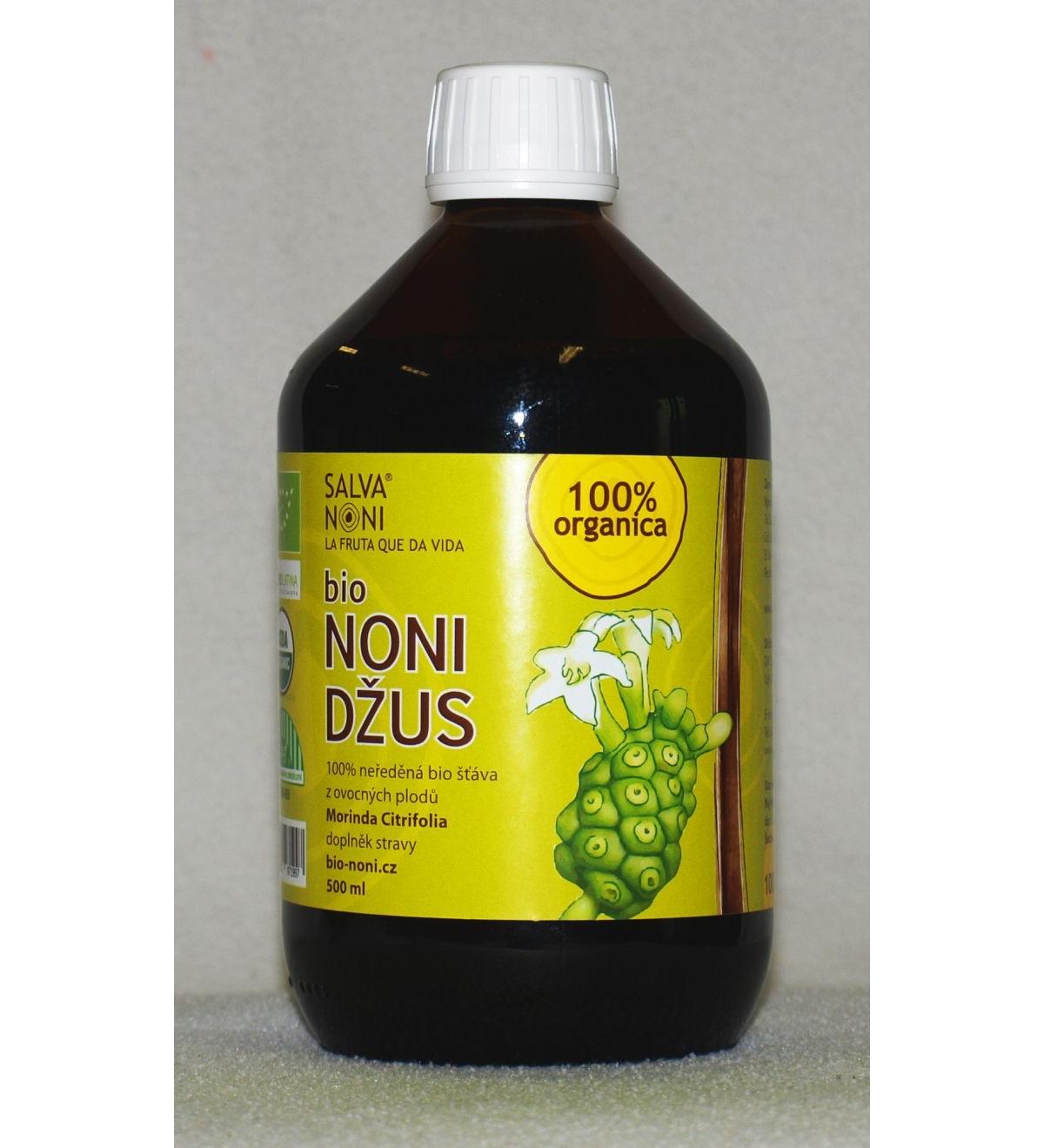 Noni džus - 100% přírodní neředěná bio šťáva z ovocných plodů.