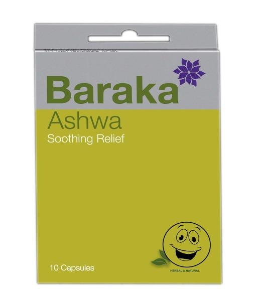 Baraka Ashwa - inhalační kapsle, 10 ks