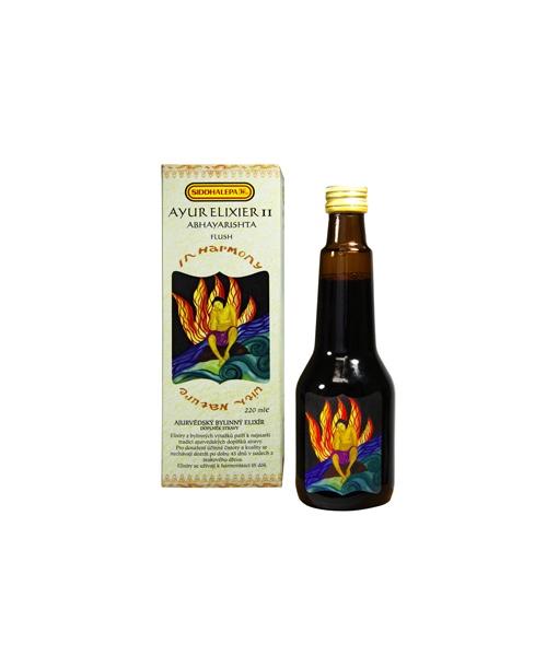 Siddhalepa Ayur elixír č. 11 Abhayarishta, 220 ml