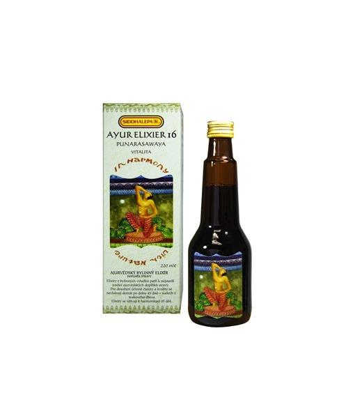 Siddhalepa Ayur elixír č. 16 Punarasawaya, 220 ml