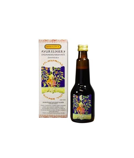 Siddhalepa Ayur elixír č. 7 Dasamoolarishata, 220 ml