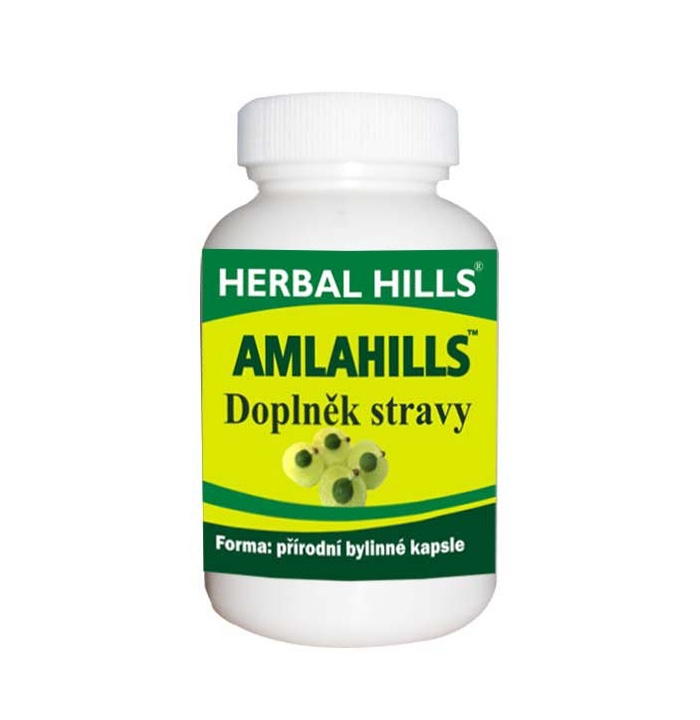 Herbal Hills Amlahills, 60 kapslí