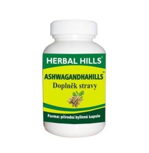 Herbal Hills Ashwagandahills, 60 kapslí