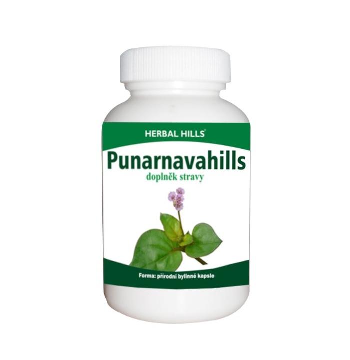 Herbal Hills Punarnavahills, 60 kapslí