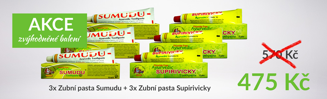 Banner Siddhalepa Supirivicky + Sumudu zvýhodněné balení 6 ks