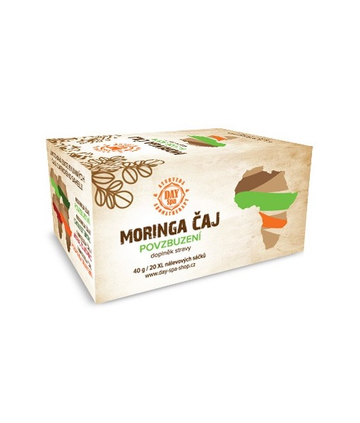 Day Spa Moringa čaj - Povzbuzení, 20 sáčků
