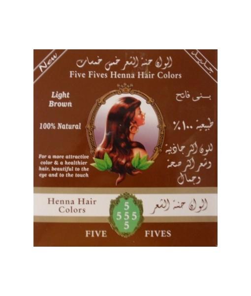 Five Fives Henna Herb - Henna Lamda hnědá, 100 g