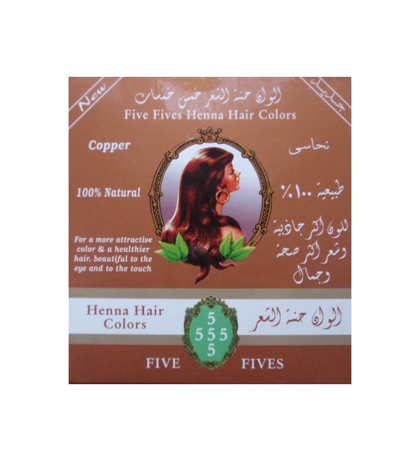 Five Fives Henna Herb - Henna Lamda měděná, 100 g