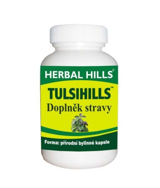 Herbal Hills, Tulsihills, 60 kapslí
