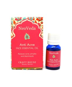 NeoVeda Anti Acne Face Essential Oil - sérum proti akné, 10 ml