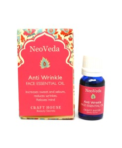 NeoVeda Anti Wrinkle Face Essential Oil - sérum proti vráskám, 10 ml