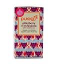 Pukka čaj Elderberry & Echinacea - černý bez a echinacea, bio, 20 sáčků