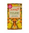 Pukka čaj Lemon, Ginger & Manuka Honey - citron, zázvor a manukový med, bio, 20 sáčků