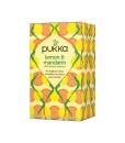 Pukka čaj Lemon & Mandarin - citron a mandarinka, bio, 20 sáčků