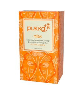 Pukka čaj Relaxační, bio, 20 sáčků