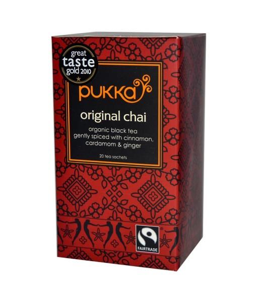 Pukka čaj s kořením Original Chai, bio, 20 sáčků
