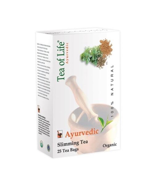 Tea of Life Slimming Tea - ájurvédský čaj na hubnutí, bio, 25 x 2 g