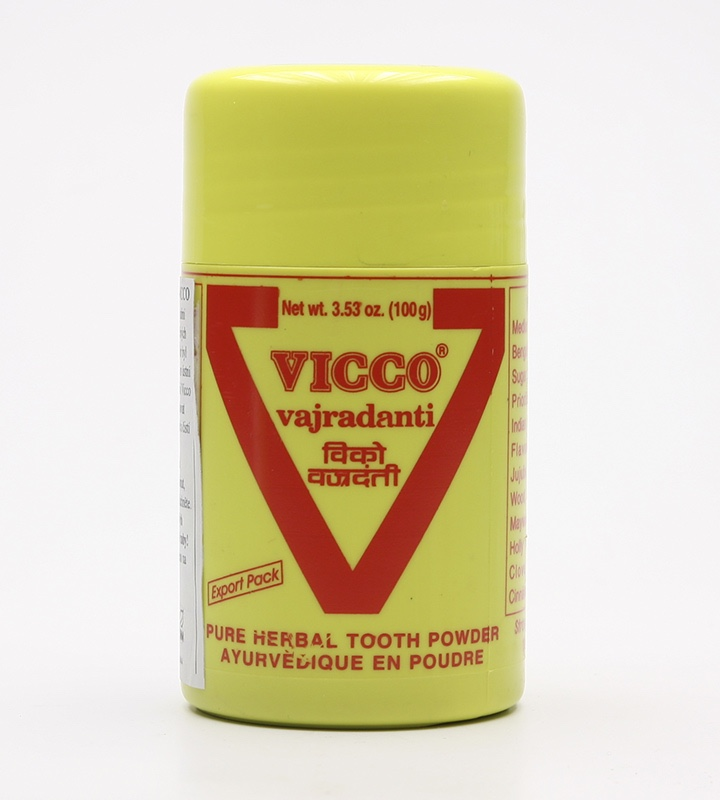 Viccco Vajradanti zubní prášek, 25 g