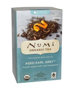 Numi Organic Tea Aged Earl Grey - Earl Grey s bergamotem, bio, 18 sáčků