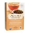 Numi Organic Tea Breakfast Blend - směs černých čajů k snídani, bio, 18 sáčků