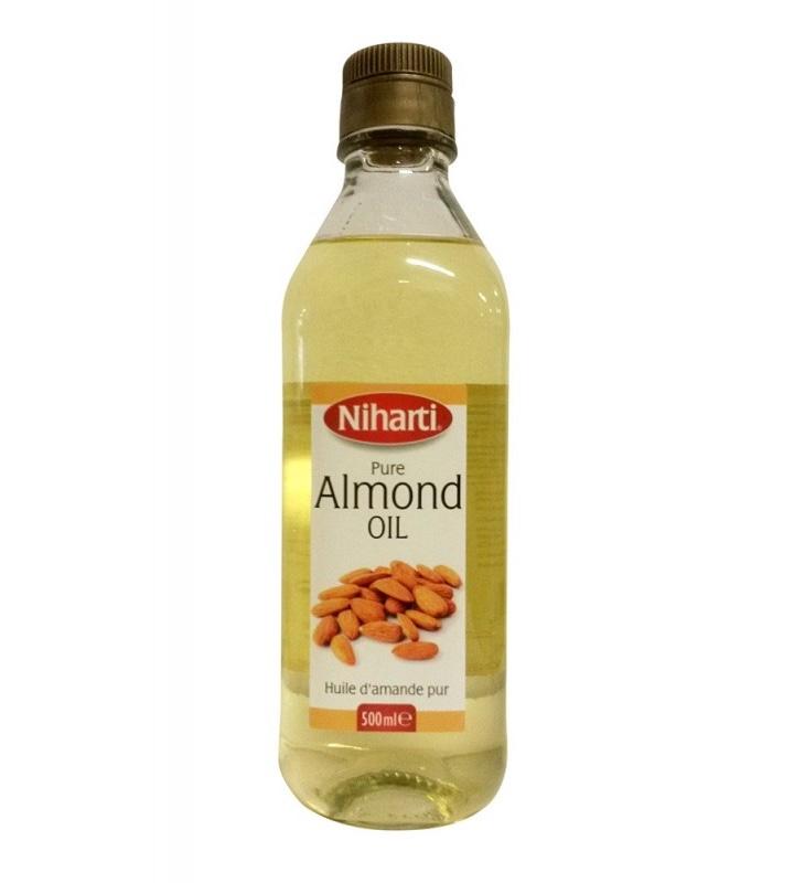 Niharti Mandlový olej za studena lisovaný, 500 ml