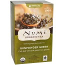 Numi Organic Tea Gunpowder Green - zelený gunpowder, bio, 18 sáčků