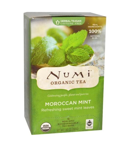Numi Organic Tea Maroccan Mint - marocká máta, bio, 18 sáčků