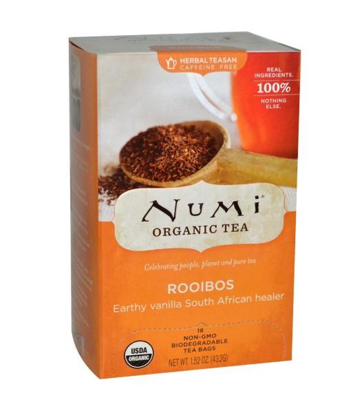 Numi Organic Tea Rooibos - rooibos, bio, 18 sáčků