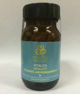 Healing Nature Ashwagandha - vitalita, 60 kapslí