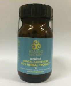 Healing Nature Brahmi - paměť, duševní síly, 60 kapslí