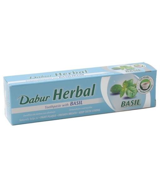 Dabur Herbal Basil - zubní pasta s bazalkou, 100 ml