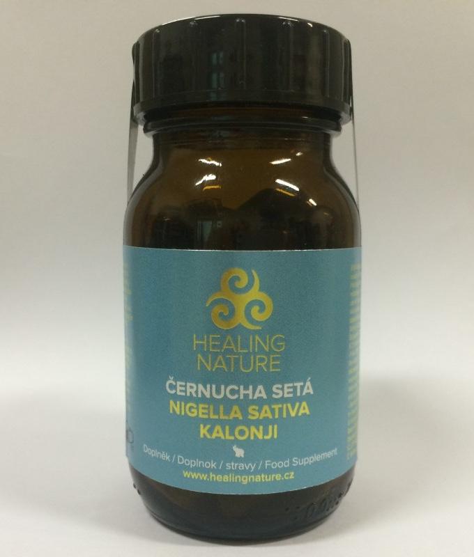 Healing Nature Kalonji - plíce a imunita, 60 kapslí