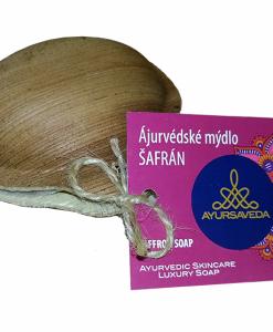 Ájurvedské mýdlo Šafrán