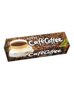 Žvýkačky coffee