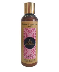 Ayursaveda šampon a kondicioner růže