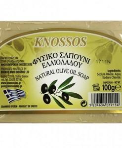 Knossos mýdlo oliva bílé