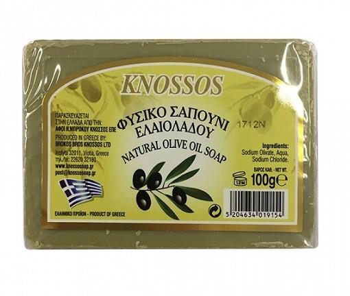 Knossos mýdlo oliva zelené