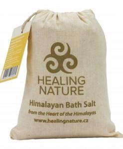 Koupelová sůl s květem heřmánku
