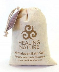 Koupelová sůl s listy břízy