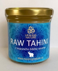 Nature's Answer - RAW TAHINI bílý sezam