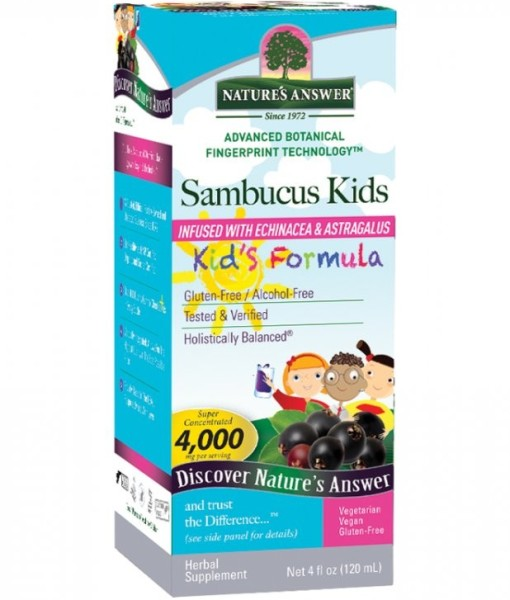 Nature's Answer Sirup pro děti 120 ml
